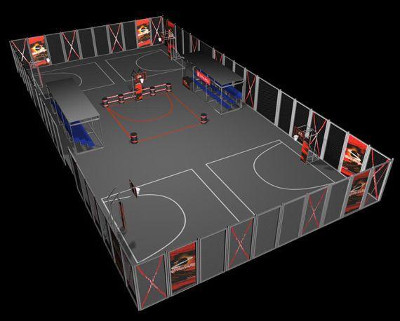 Идеальная стритбольная площадка